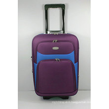 Shantung Silk EVA External Trolley Travel Luggage Suitcase
