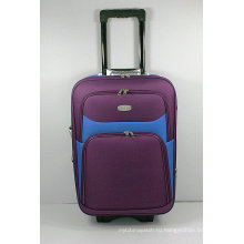 Чесуча шелк Ева внешние тележки путешествия камера чемодан