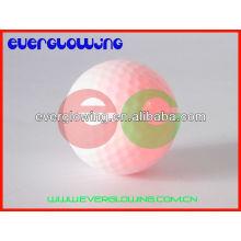 Красная LED подсветка мячи для гольфа горячие продаем 2016