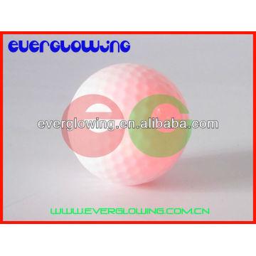 bolas de golfe iluminadas conduzidas vermelhas venda QUENTE 2016