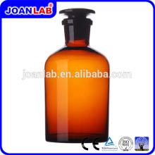 JOAN 500ml Botella de reactivo de vidrio ámbar para productos químicos