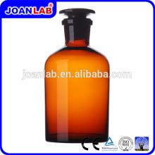 JOAN LAB Bouteille de réactif en verre ambré pour usage en laboratoire