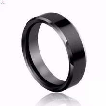 Wholesale Hand Made Fashionable Black Flat Ladies Rings For Women