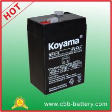 Wholesale Price Lead Acid Battery 6V 4ah