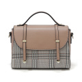 High Quality PU Leather Messenger Satchel Bag