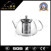 Стеклянный чайник ручной работы Borosilicate Hot Sale Clear