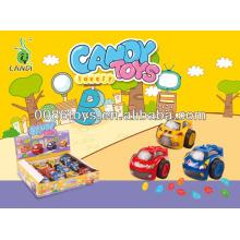 mini car watch candy toys