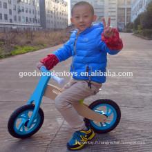 Nouveau design enfant vélo enfants et enfants en bois vélo