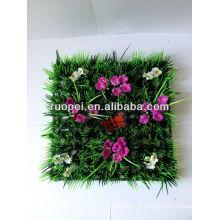 relva artificial relva grama decorativa tapete de grama flor