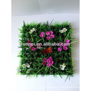 césped artificial hierba decorativa hierba césped flor alfombra