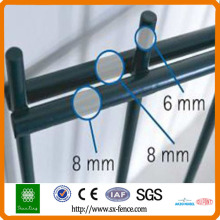 hook style welded 868 double wire fence