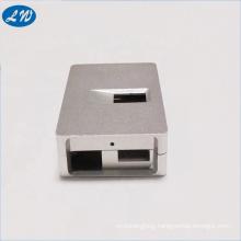 High precision cnc milling machining sliver anodize aluminum CNC milling case part