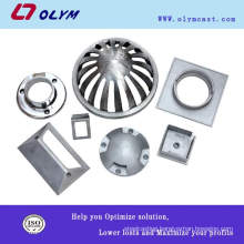 custom made stainless steel Decorated special lamp parts precision casting