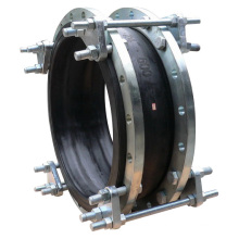Double Flange Rubber Joint with Tie Rods