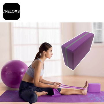 Melors Escola Eco-Friendly EVA Foam Yoga Block