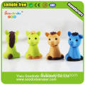 Cheap Customized School Promotionnel TPR Unicorn Horse eraser