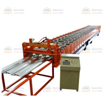 Used by Latin American construction companies floor deck roll forming machine