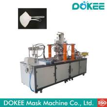 Máquina automática de soldadura de correa de oreja con máscara de cabeza plegable