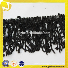 hot design knitted wool fringe tassel trim in stock