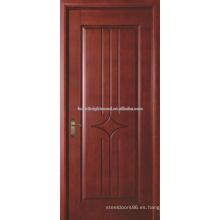 Pintado acabado tallada puerta del MDF, puerta Interior del MDF, puerta de madera MDF