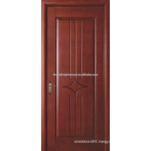 Painted Veneered Carved MDF Door, Interior MDF Door, MDF Wooden Door