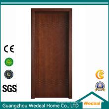 Puertas interiores de MDF laminadas en PVC para proyectos