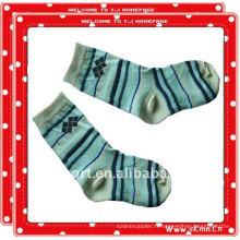 Chaussettes pour enfants en tube de coton tricoté