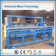 semi automatic crimped wire mesh weaving machine