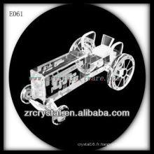 Modèle de trafic de cristal délicat E061