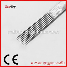 100% EO Gas Sterilized Bugpin Tattoo Needle