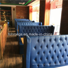 Bar Night Club Cool Sofa Restaurante con botón de copete (FOH-RB1)
