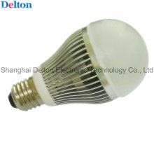 7W luz de bulbo personalizado do diodo emissor de luz