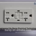 Receptáculo resistente da calcadeira elétrica americana do GFCI da aprovação de UL & CUL