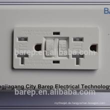 UL & CUL-Zulassung Amerikanischer elektrischer GFCI-manipulationsresistenter Behälter