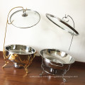Stainless Steel  Buffet Server Food Warmer  / Hot Pot Chafing Dish