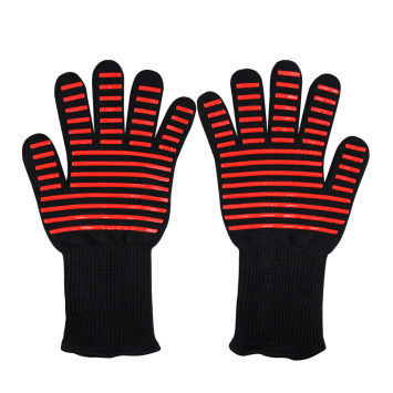 High Temperature Working Red Stripe Gloves