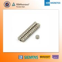 Imán de neodimio N42 D5 * 3 mm