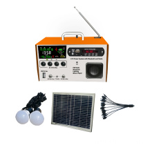 FM radio LCD Solar Lights