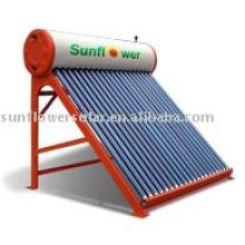 Calentador de agua solar tubular (calentador de agua solar, ISO9001, KEYMARK SOLAR, CE, SRCC, EN12975)
