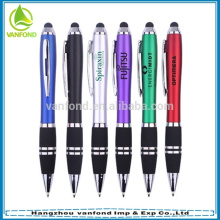 caneta de toque do ipad 2 em 1 promocional com custom seu logotipo