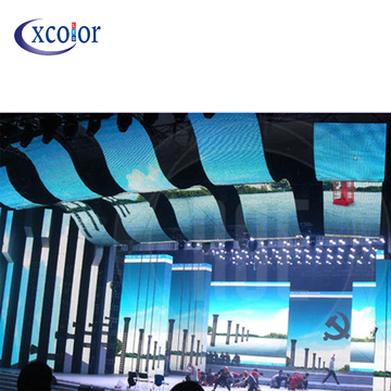 Indoor P10 RGB Curtain Led Video Display Screen