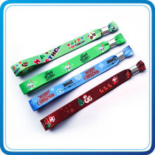 Hot Selling Custom Made Fabric Wristband for Activity