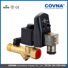 Válvula de drenaje de agua con válvula de solenoide del temporizador 220v 1 / 2inch