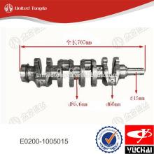Cigüeñal del motor Yuchai E0200-1005015 para YC4E