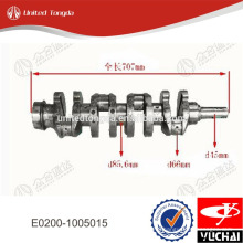 Yuchai engine crankshaft E0200-1005015 for YC4E