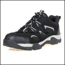 Chaussures de sport de sécurité légère en cuir véritable semelle souple