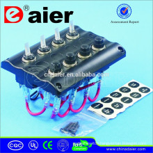 PN-TB4 12V LED Toggle Switch Panel