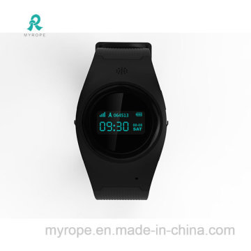 Elderly GPS Tracker Watch with GPS+Lbs Dual Position