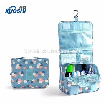 2017 Fashion canvas custom make-up bags for women