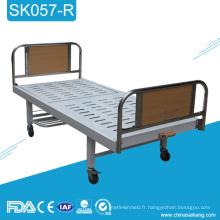 Le lit d'hôpital manuel utilisé par manivelle simple bon marché de SK057-R